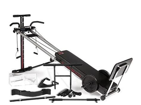 bayou fitness total trainer dlx iii