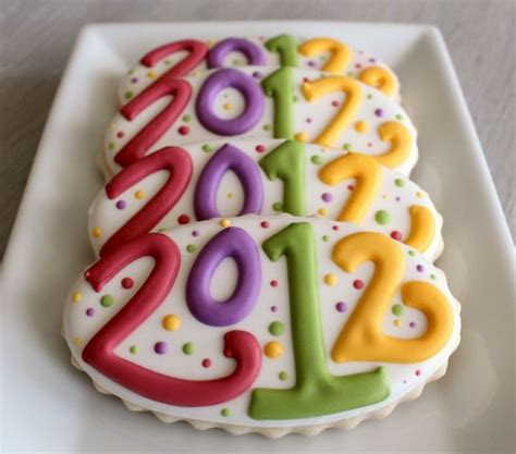 new year biscuits photos 17 best images about cookies galore new year s on