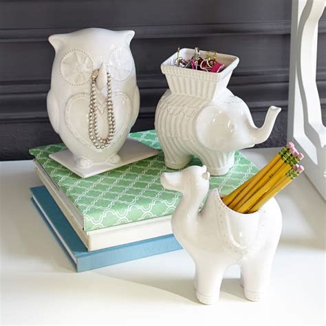 Whimsical Desk Accessories Whimsical Ceramic Buddies Pbteen