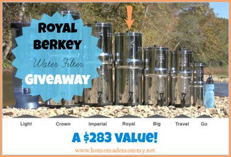 Berkey Giveaway - royal berkey giveaway winner coupon code homemade mommy