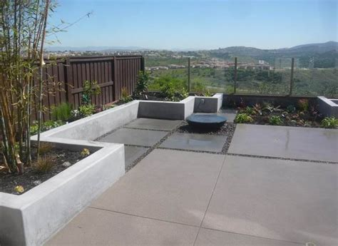 backyard concrete backyard landscaping san marcos ca photo gallery