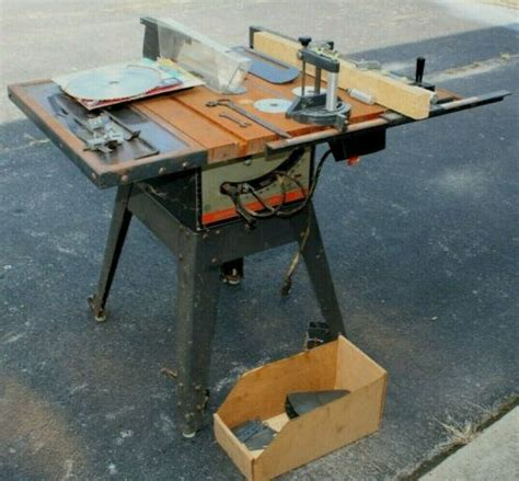 Vintage Craftsman Table Saw For Sale Tracor Parts And