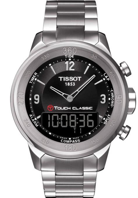 Tissot T5 510 11 057 montre tissot t touch classic quartz t083 420 11 057 00
