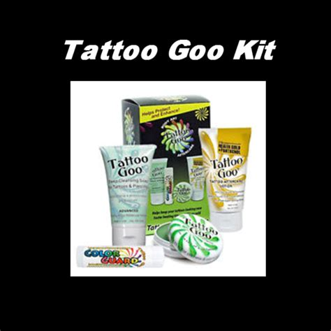 tattoo goo body art aftercare kit ap tattoo supply tattoos supplies tattoo aftercare ap