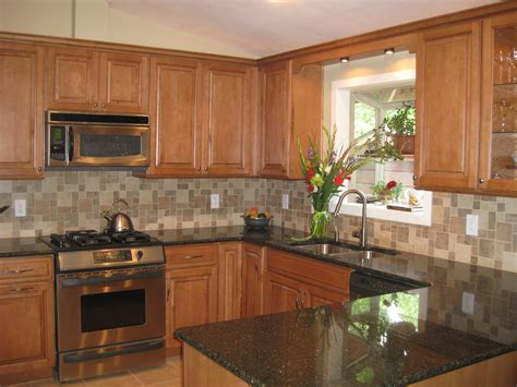 kitchen paint colors with cherry cabinets cabinets rounded undermonut sink home coffee maker