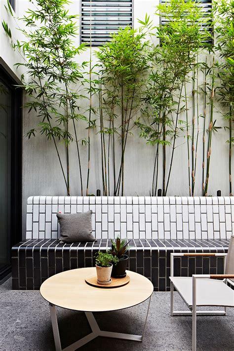 como decorar patios exteriores exteriores un patio interno peque 241 o de dise 241 o moderno