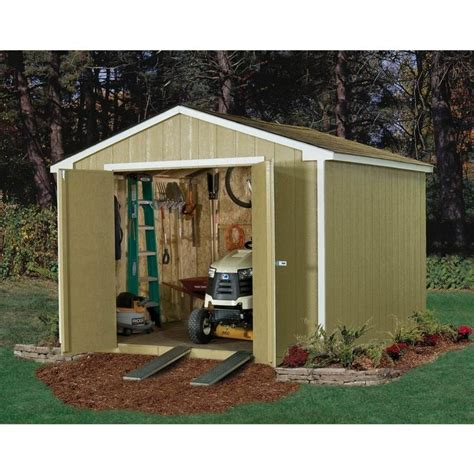 princeton 10 ft x 10 ft wood storage shed