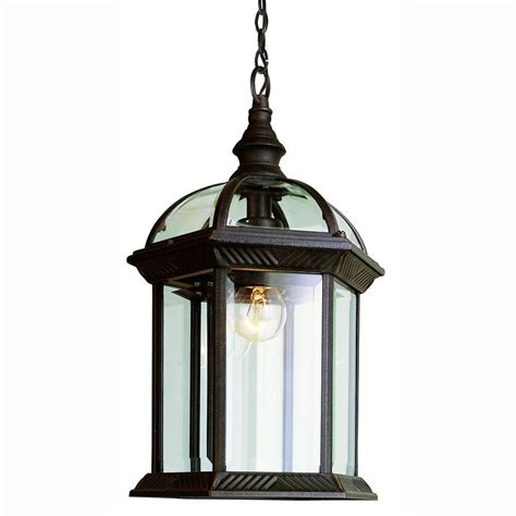porch light fixtures lowes home decorators collection wilkerson 1 light black outdoor