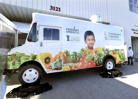 Mobile Food Pantry Truck by Soup To Nuts Shepherd Food Bank Ready To Rock And