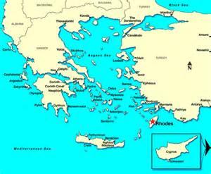Rhodes Greece Map rhodes greece map