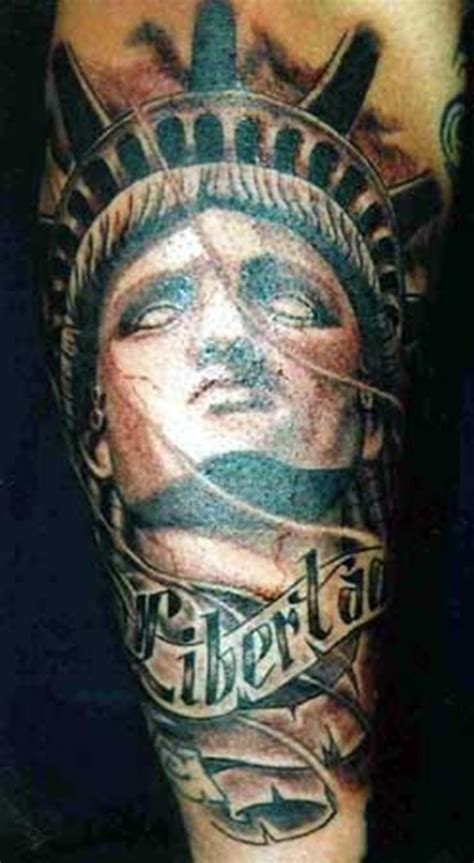 lady liberty tattoo 30 ultimate statue of liberty tattoos ideas