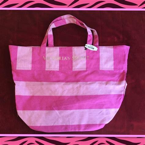 S Secret Tote Kanvas Pink S Secret Bogo Nwt Large Pink S