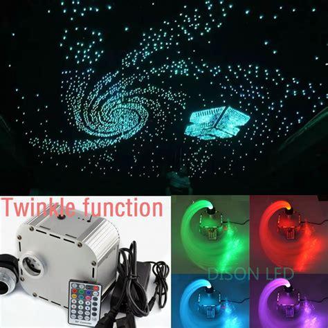 optic fiber lights rgb twinkle led fiber optic