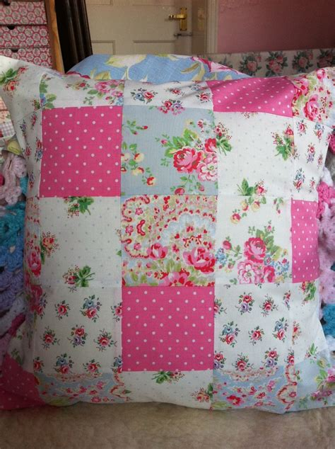 Patchwork Cushions - 98 best images about cushions to make on