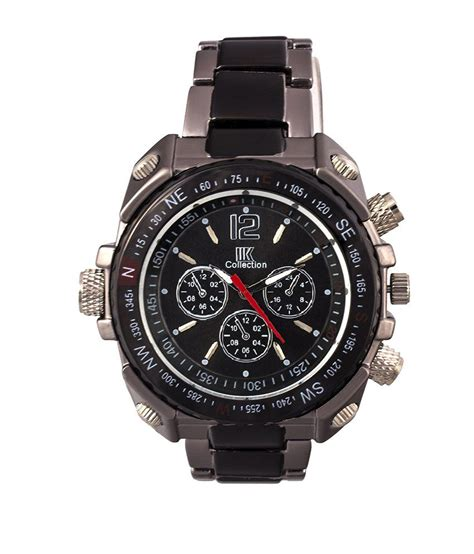 Top 7 Watches by Iik Collection Black Quartz S Buy Iik