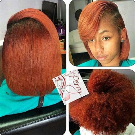 Hairstyles With Your Real Hair by 17 Best Images About Hair Styles On Bobs