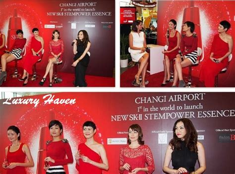Sk Ii Di Changi Airport sk ii stempower essence in the world launch at