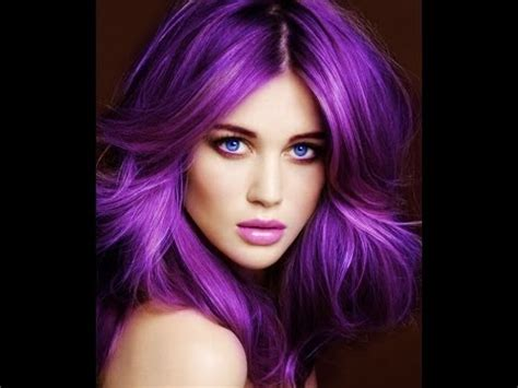 hair colors in fashion for2015 25 beautiful purple hair color ideas youtube