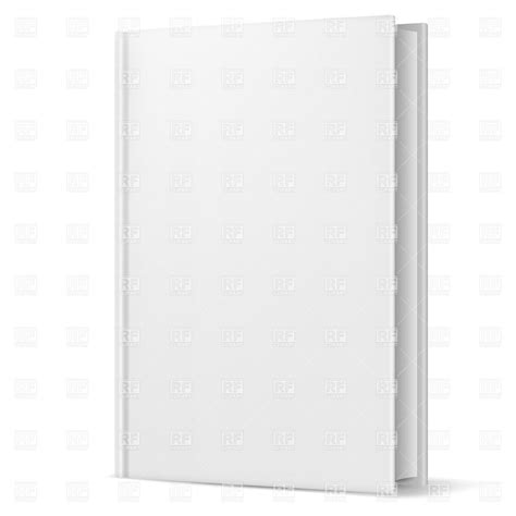 blank template for book cover 14 blank book cover vector images 3d book cover template