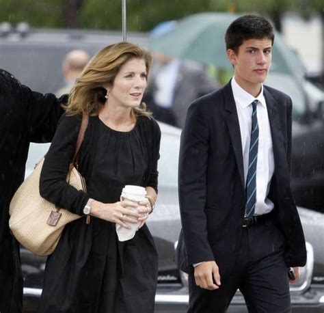 caroline kennedy s son caroline kennedy and her son john arrive at the john f