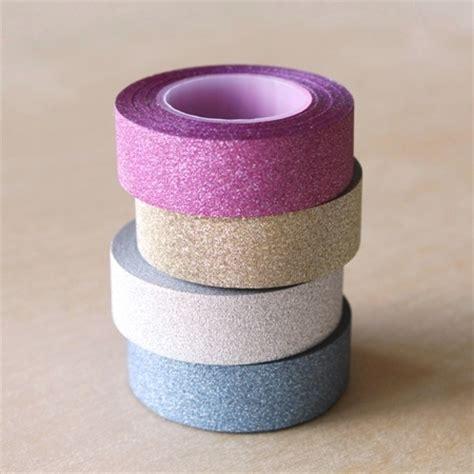 cinta decorativa cinta adhesiva decorativa purpurina how project