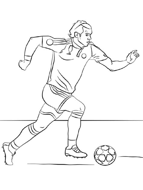 Soccer Coloring Pages For by Soccer Player Coloring Pages Free Printable Soccer Player