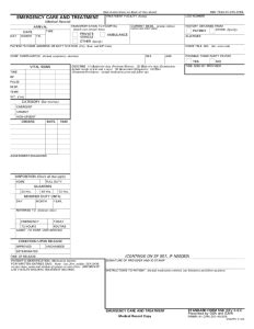Fake Emergency Room Form Papers When They Re Required Emergency Room Discharge Papers Template