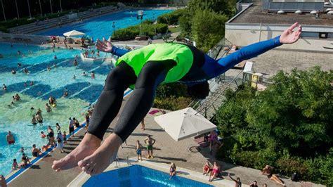 freibad pullach unterhaching splashdiver im freibad unterhaching
