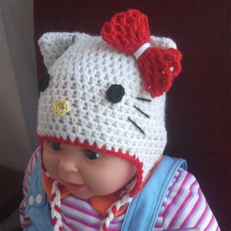pattern crochet hello kitty hello kitty hat easy crochet pattern all sizes pattern by