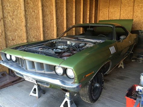 Craigslist Dodge City Kansas 1971 Cuda Hemi 4 Speed Barn On Craigslist In Kansas