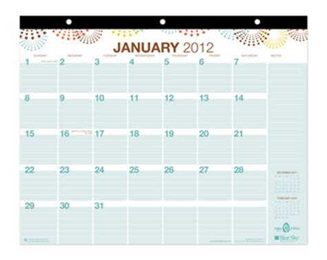 Blue Sky Calendars Blue Sky Calendars Calendar Template 2016