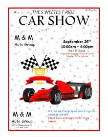 Car Show Flyer Template by Car Show Flyer Template Microsoft Word Templates