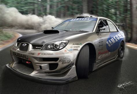subaru wrx drift gencept addicted to designs 40 totally insane car graphics