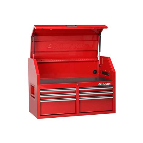 husky tool box drawer liner husky 36 in 6 drawer top chest red h36ch6ler the home