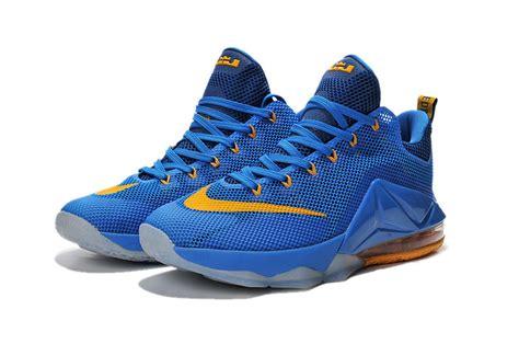 blue and yellow nike basketball shoes nike basketball lebron shoes yellow and blue