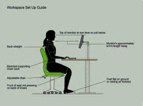 Office Chair Correct Height Office Ergonomics Whitespace Consultants