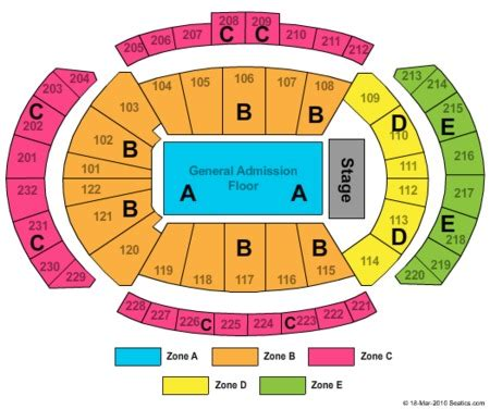 sprint center floor plan sprint center tickets sprint center in kansas city mo