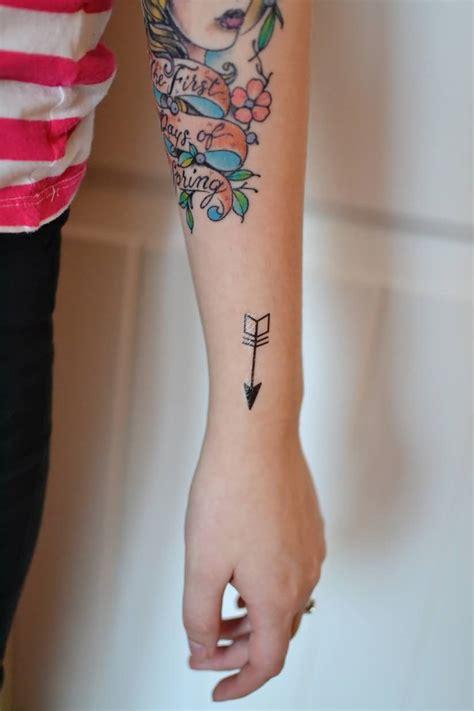 tattoo girl new show arrow wrist tattoos and photo ideas page 10