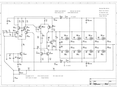 power mosfet diode based limiter for high frequency ultrasound systems audio lifer circuit 230w with mosfet irfp240 9240 audio lifier schematic circuits picture