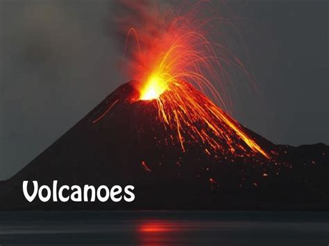 powerpoint themes volcano a colourful and engaging powerpoint presentation all about