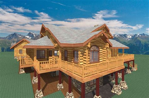 Cabin Kits Colorado by Colorado 2081 Sq Ft Log Home Kit Log Cabin Kit