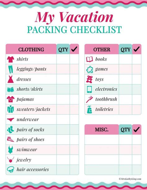 printable holiday packing list 2015 search results for free printable travel checklist