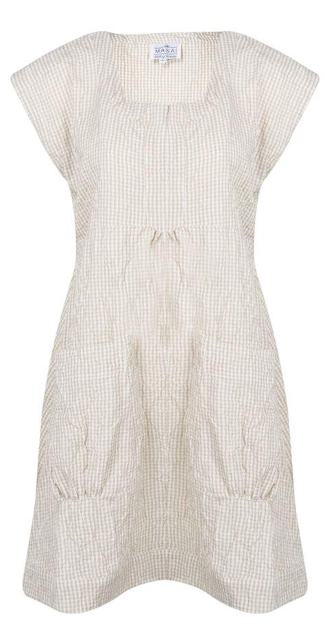 Top Hannie masai clothing sleeveless hannie tunic in org