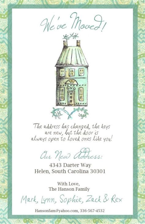printable moving house cards 25 unique change of address cards ideas on pinterest we