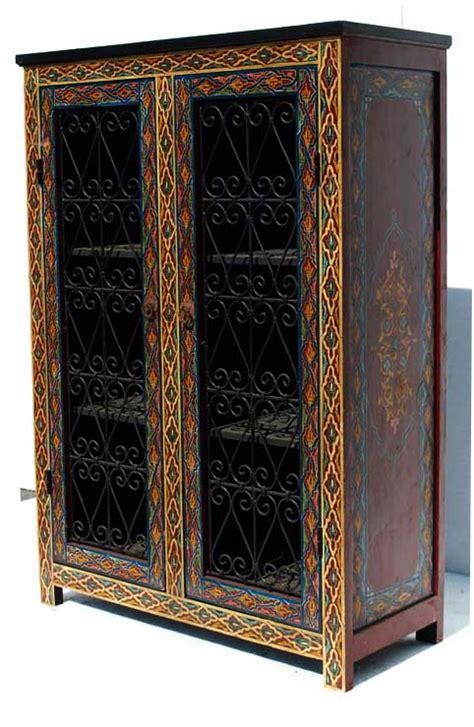 moroccan armoire moorish granada armoire