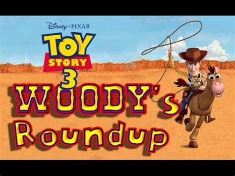 disney's toy story 3 woody's roundup all levels (ps2
