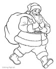 what color is santa claus coloring pages santa claus