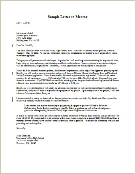 Letter Of Recommendation From Research Mentor Image Gallery Mentor Letter