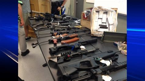 army surplus store barrie maple ridge faces 50 weapon related charges ctv