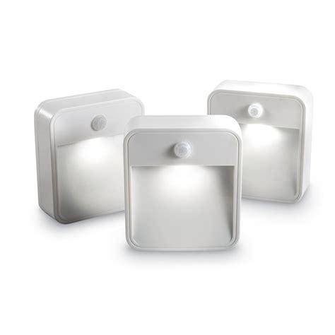 mr beams led night light mr beams stick anywhere wireless motion sensor led night
